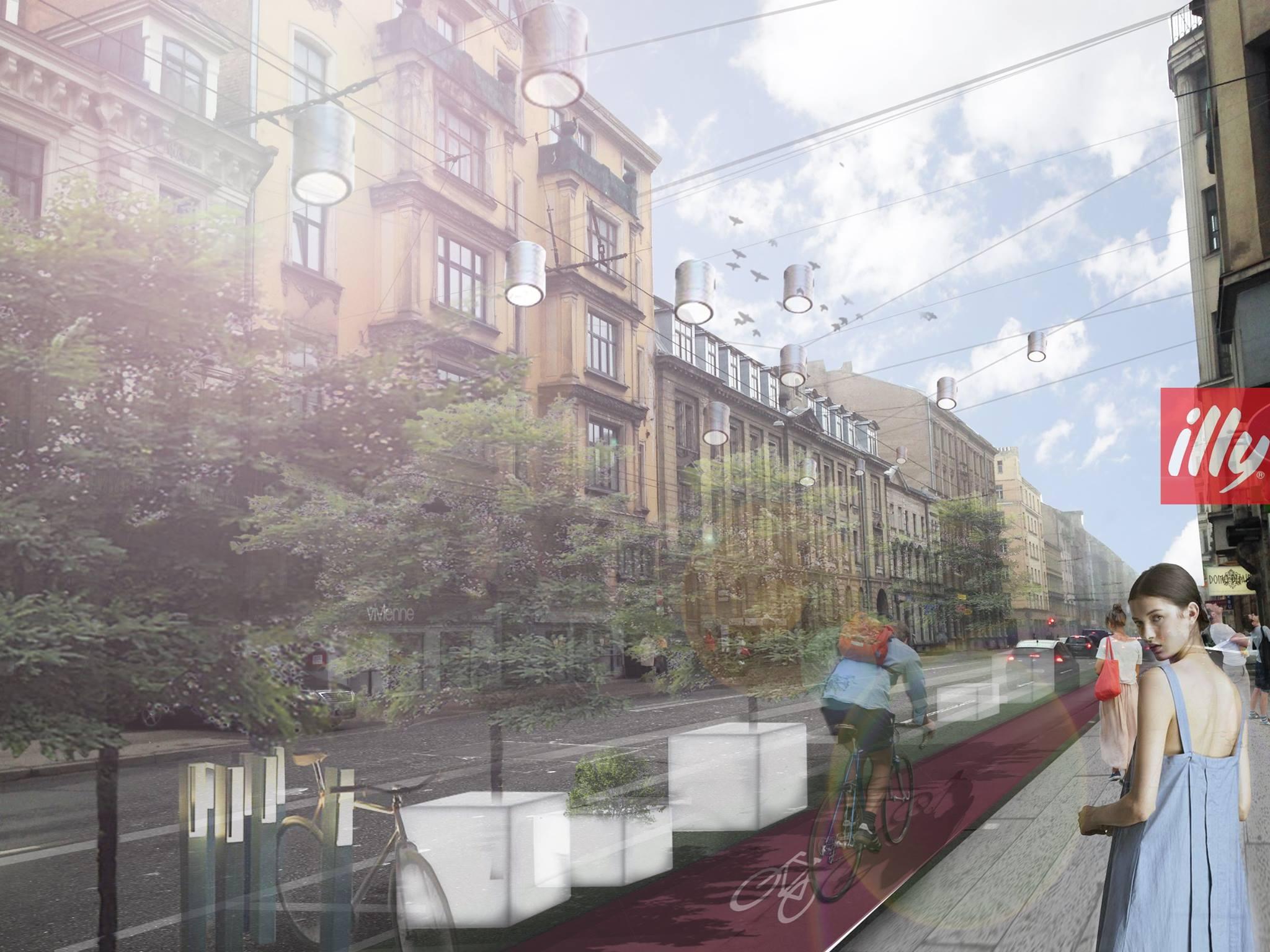 ДНЕМ Такой улицу Чака видят архитекторы М. Кулитане и Э. А. Каужена.