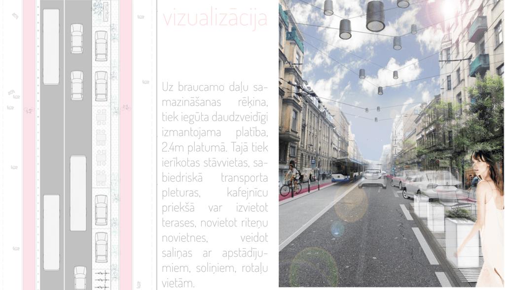 Такой улицу Чака видят архитекторы М. Кулитане и Э. А. Каужена.