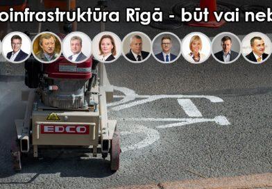 Ko domā partijas: Veloinfrastruktūra
