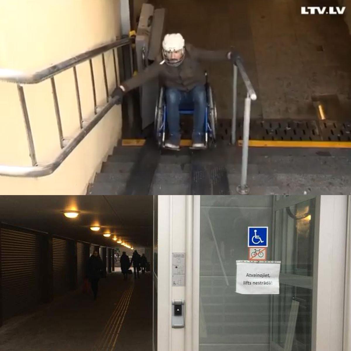 RDSD ņirgāšanās par invalīdiem