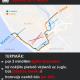 1. tramvaja maršruta izmaiņas